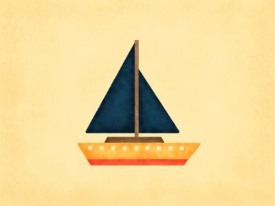 Yellow boat design