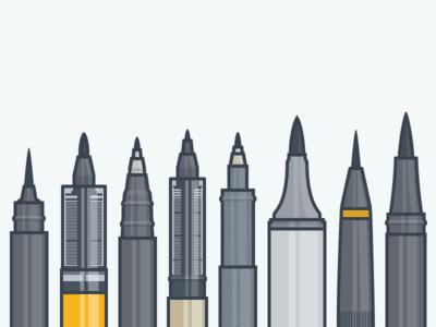 Different sized pen Design