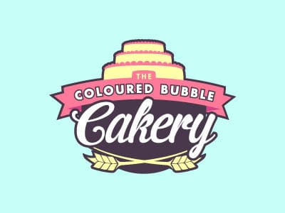 Cake bakery logo