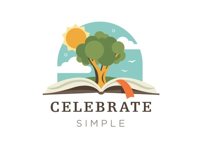Book and tree logo