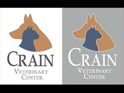 Crain vet logo