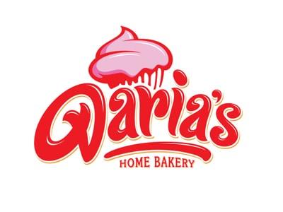 Typography bakery logo