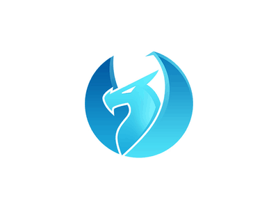 Ice dragon logo