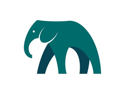 tall elephant logo