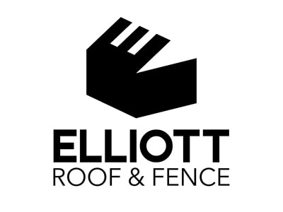 Black roof logo
