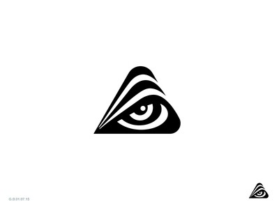 Triangular designed eye