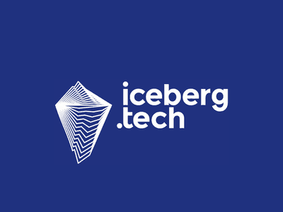 Blue tech logo