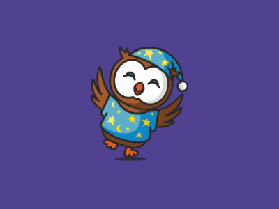 Owl with pajamas