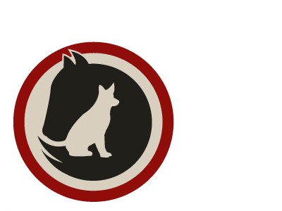 Horse and cat logo
