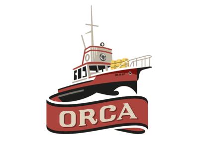 Captain's boat logo