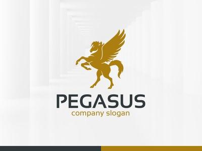 Gold pegasus design