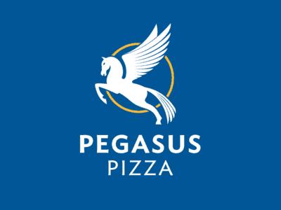 Pegasus pizza design