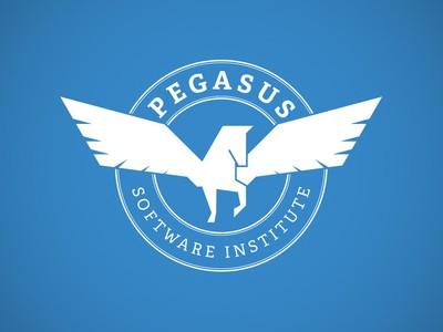 Pegasus inside of circle