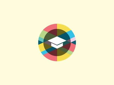 Graduation cap logo