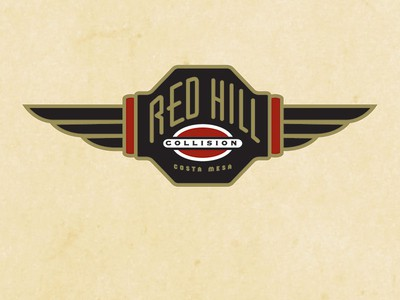 Wings with text logo