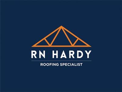 Geometric roof logo