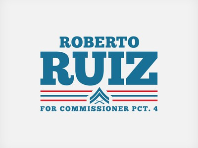 Military candidate campaign logo