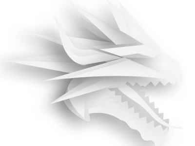 White Dragon logo