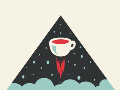 Outer-space coffee