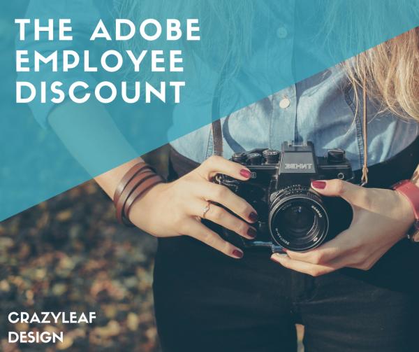 adobe employee discount