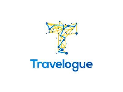 Travelogue logo design
