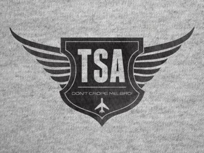 TSA security badge