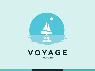 Voyage sailboat logo