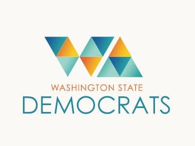 Triangular democratic logo