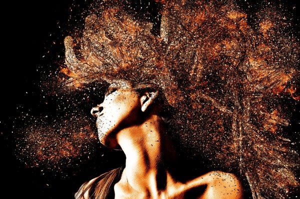 wild womans hair