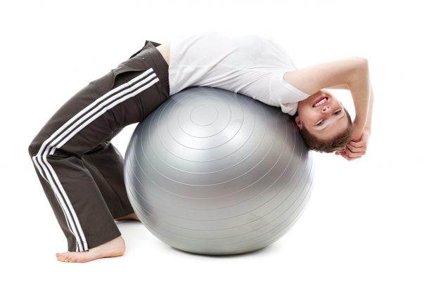 exercize with ball