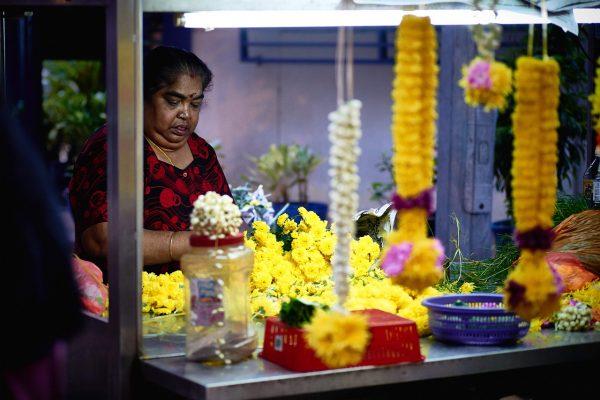 florist in the flower shop