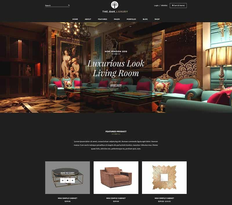 WordPress-WooCommerce-Theme-for-Furniture-Decoration-Design-eCommerce-Store