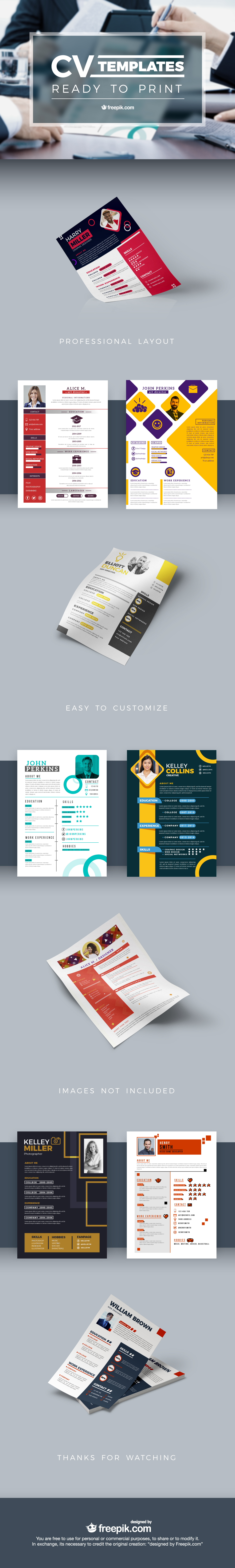 CV Templates Free Download